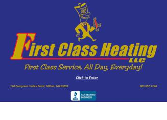 First+Class+Heating Website