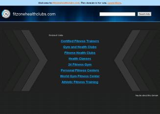 Fitzone Website