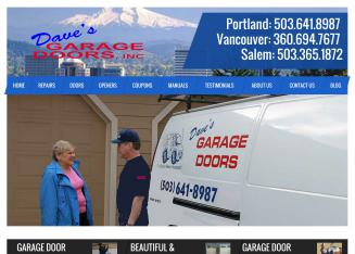 Dave%27s+Garage+Doors Website