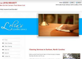 Lelia%27s+Cleaning+Service%2C+Inc. Website
