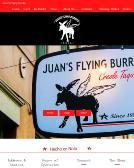 Juans+Flying+Burrito Website