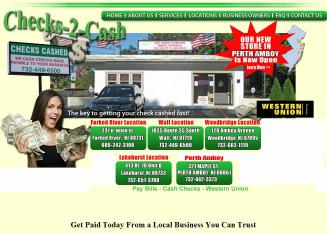 Checks+2+Cash+Inc Website