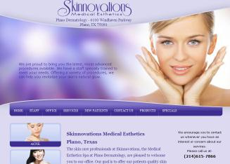 Plano+Dermatology+Associates Website