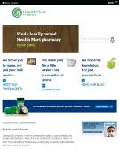 Huff+Pharmacy Website