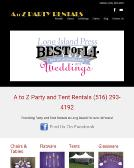 A+To+Z+Party+Rentals Website