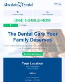 Absolute+Dental Website