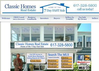 Classic+Homes+Real+Estate Website