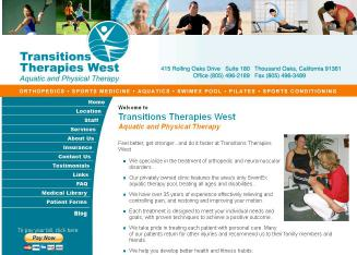 Transitions+Therapies+West%2C+Aquatic+%26+Physical+Therapy Website