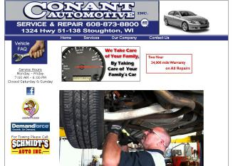 Conant+Automotive Website