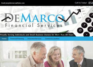 Demarco+Financial+Services Website