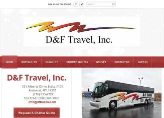 D & F Travel Bus Chartering