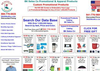 BK+Sales+Promotional+Products+Co Website