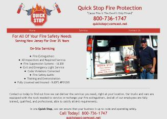 A Quick Stop Fire Protection