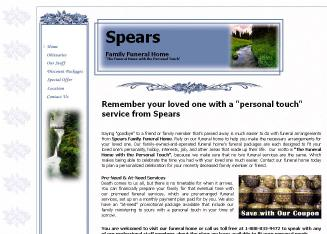 Spears+Mortuary+%26+Family+Service Website