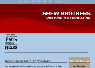 Shew+Brothers+Welding+%26+Fabrication Website