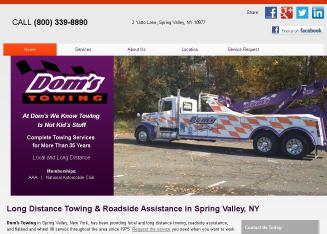 Dom%27s+Towing Website