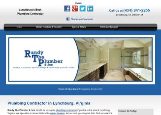 Randy+The+Plumber+%26+Son Website