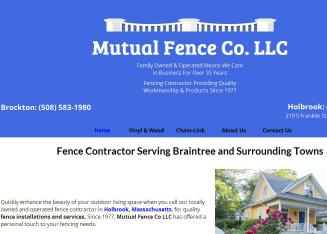 Mutual+Fence+Co+Llc Website