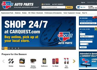 CARQUEST+Auto+Parts Website