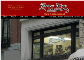 Gloria+Wan+Hair+Design Website