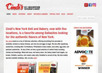 Cindi%27s+NY+Deli+Bakery+%26+Restaurant Website