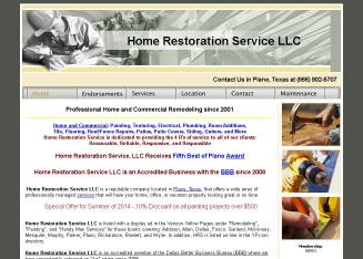 Home+Restoration+Service+LLC Website