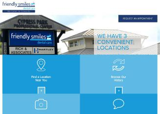 Friendly+Smiles+Dental+Care Website