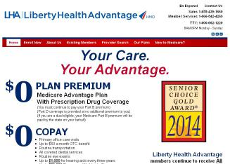 Liberty+Health+Advantage+Inc Website