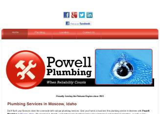 Powell+Plumbing Website