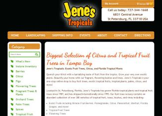 Jene's Tropical Fruit Trees