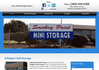 Smokey+Point+Mini+Storage Website