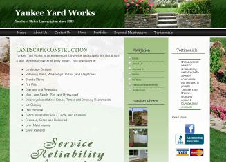 Yankee+Yard+Works Website