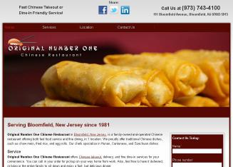 Number+One+Chinese+Restaurant Website