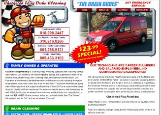 Checkered Flag Plumbing - $23.99 Drain Cleaning