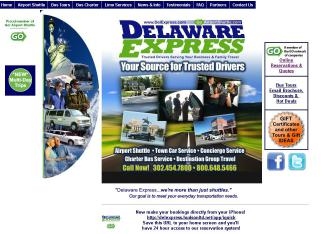 Delaware+Express+Shuttle Website