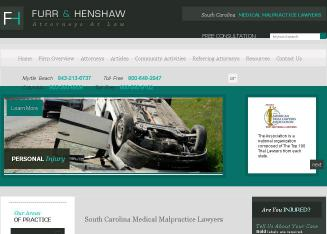 FURR+Henshaw+%26+Ohanesian+Attorneys+at+Law Website