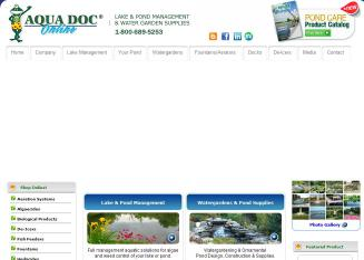 AQUA+DOC+Lake+%26+Pond+Management+COLUMBUS Website