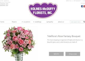 Holmes-McDuffy+Florists%2CInc. Website