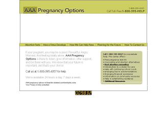 A-A-A+Pregnancy+Options Website