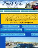 Evans%2CWayne+D+Insurance+Agency Website