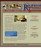 Richmond+Tutors Website