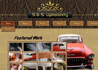 S+%26+S+Upholstery Website