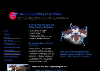 Paul+F.+Federline+%26+Sons Website
