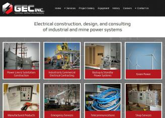 GEC+Inc Website