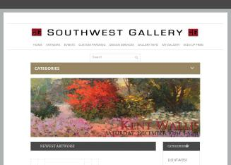 Southwest+Gallery Website