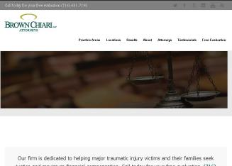 Brown+Chiari+LLP Website
