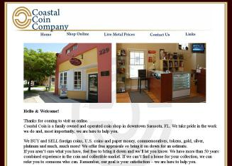 Coastal+Coin+Company Website