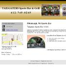 Tailgaters+Bar+And+Grill Website