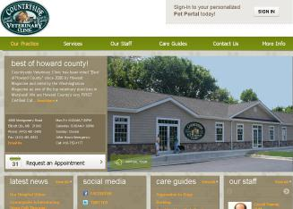 Countryside+Veterinary+Clinic Website