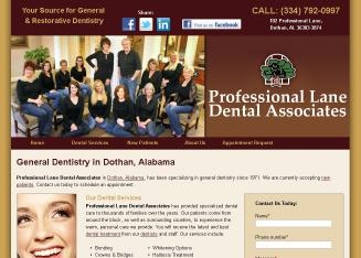 Dothan Dental Group P.C. provides professional dentist services to Dothan, AL.   Call 334-793-6400 for more information about our products and services.